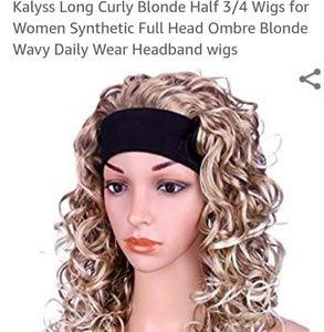 Wig w/ built in headband